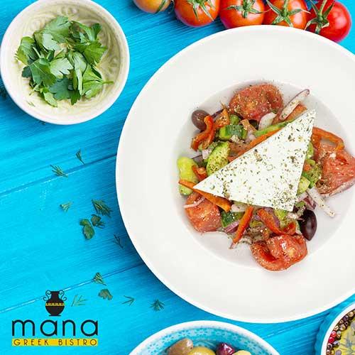 Mana Greek Bistro Greek Salad
