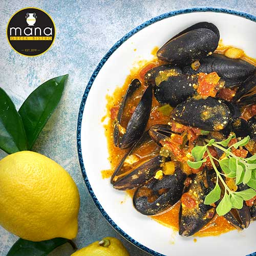 Mana Greek Bistro Mussels