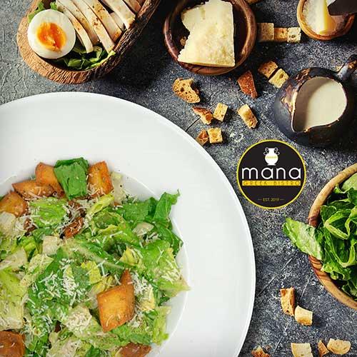 Mana Greek Bistro Ceasar Salad