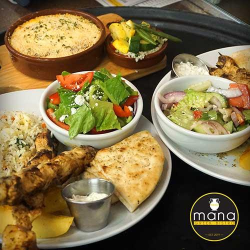 Mana Greek Bistro Authentic Greek Food